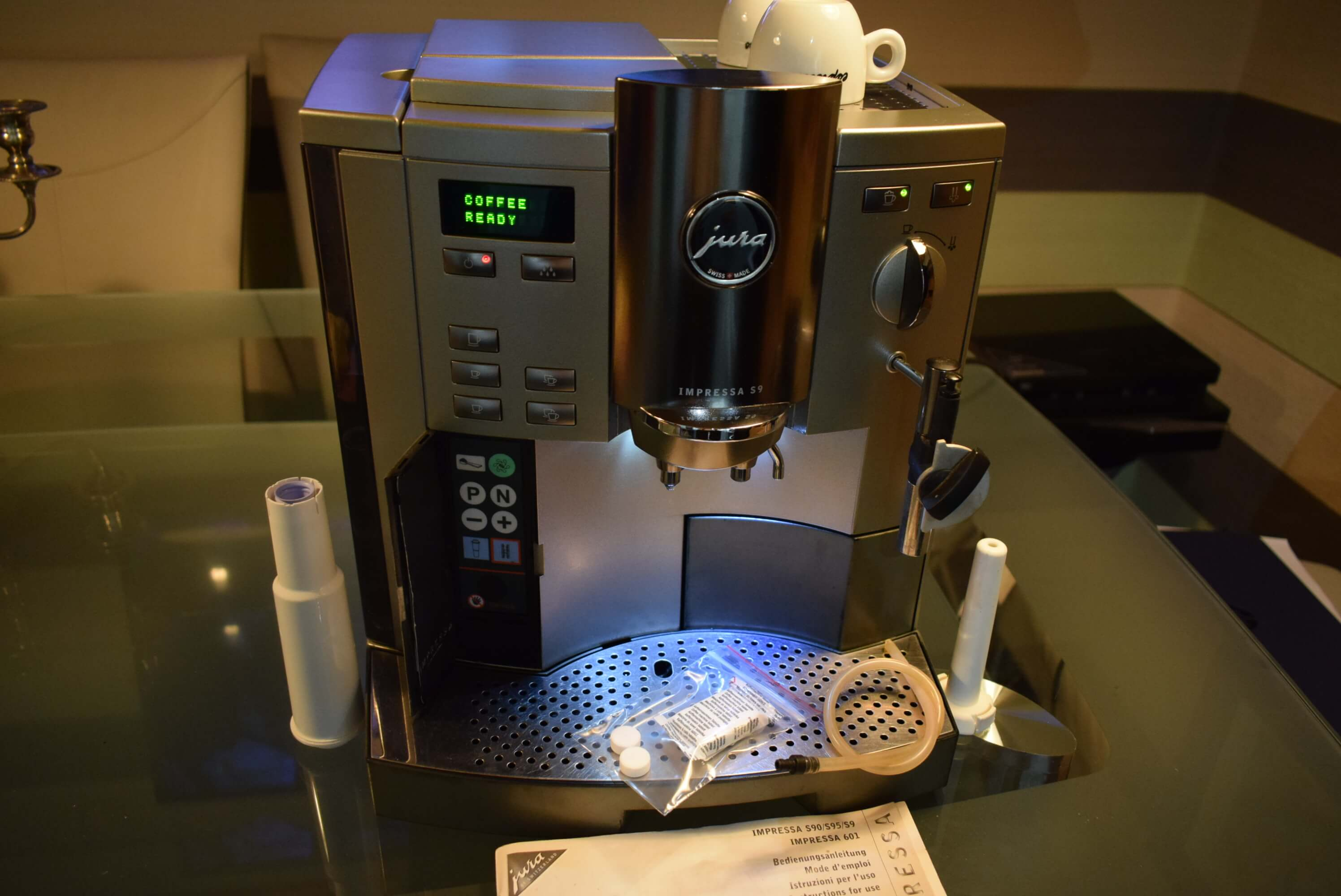 jura impressa s9 bean to cup coffee machine  u2013 cappuccino  u2013 ucm