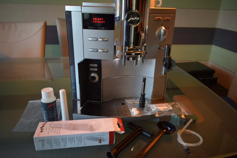 Jura Impressa S9 AVANTGARDE Bean to cup Coffee machine – Cappuccino