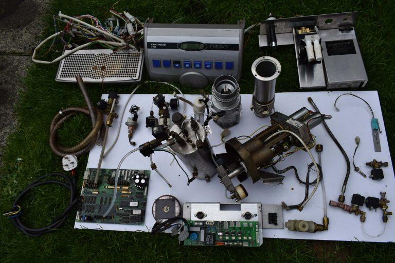REX ROYAL coffee machine parts